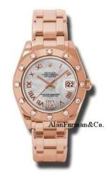 Rolex 18K Rose Gold Model 81315MDR