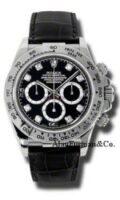 Rolex 18K White Gold Model 116519BKD