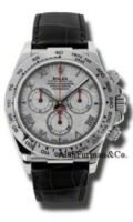 Rolex 18K White Gold Model 116519MT