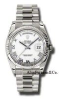 Rolex 18K White Gold Model 118239WRP