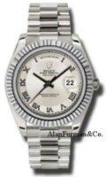 Rolex 18K White Gold Model 218239ICRP