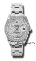 Rolex Datejust Special Edition 18K White Gold 34mm Model 81299