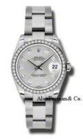 Rolex Steel Diamond Custom Model 178240