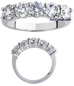 Diamond Ring Platinum 2.00cttw Model SESS758