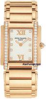Patek Philippe Lady's Twenty~4 18K Rose Gold Quartz Model 4910/11R