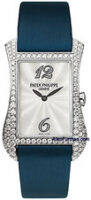 Patek Philippe Lady's Gondolo 18K White Gold Quartz Model 4972G