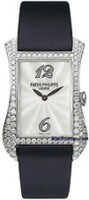 Patek Philippe Lady's Gondolo 18K White Gold Quartz Model 4973G