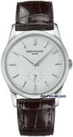 Patek Philippe Calatrava 18K White Gold Manual Model 5196G