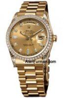 Rolex 18K Yellow Gold Model 118388CHD