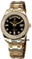 Rolex 18K Yellow Gold Model 18948BKD