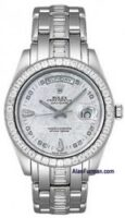 Rolex Platinum Model 18956BRIL