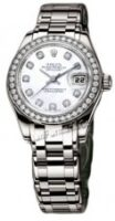 Rolex 18K White Gold Model 80299WD