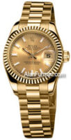 Rolex 18K Yellow Gold Model 179178CHSP
