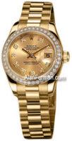 Rolex 18K Yellow Gold Custom Model 179178