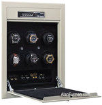 Orbita Sparta Wallsafe Six Watch Winder Model W21700