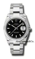 Rolex Date Stainless Steel 34mm Model 115200