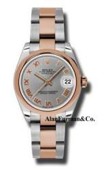 Rolex SS 18K Rose Gold Model 178241GRO