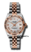 Rolex SS 18K Rose Gold Model 178271MRJ