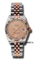 Rolex SS 18K Rose Gold Model 178271PCHFJ