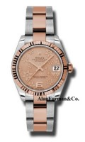 Rolex SS 18K Rose Gold Model 178271PCHFO