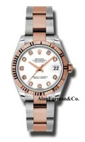 Rolex SS 18K Rose Gold Model 178271WDO