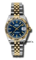 Rolex SS 18K Yellow Gold Model 178273BLIJ