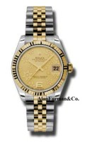 Rolex SS 18K Yellow Gold Model 178273CHFJ