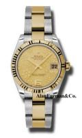 Rolex SS 18K Yellow Gold Model 178273CHFO