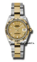 Rolex SS 18K Yellow Gold Model 178273CHIO