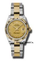 Rolex SS 18K Yellow Gold Model 178273CHRO