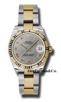 Rolex SS 18K Yellow Gold Model 178273GRO