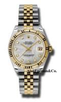 Rolex SS 18K Yellow Gold Model 178273MDJ