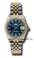Rolex SS 18K Yellow Gold Model 178313BSJ
