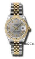 Rolex SS 18K Yellow Gold Model 178313GRJ
