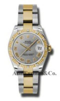 Rolex SS 18K Yellow Gold Model 178313GRO
