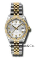 Rolex SS 18K Yellow Gold Model 178313SJDJ