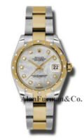 Rolex SS 18K Yellow Gold Model 178343MDO