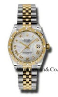 Rolex SS 18K Yellow Gold Model 178343MRJ