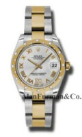 Rolex SS 18K Yellow Gold Model 178343SDRO