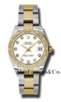 Rolex SS 18K Yellow Gold Model 178343WDO