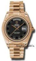 Rolex 18K Rose Gold Model 218235BKCAP