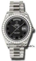 Rolex 18K White Gold Model 218349BKCAP