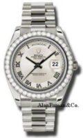 Rolex 18K White Gold Model 218349ICRP