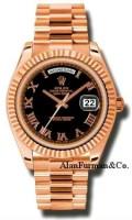 Rolex 18K Rose Gold Model 218235BKRP