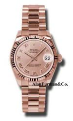 Rolex 18K Rose Gold Model 178275PRP