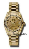 Rolex 18K Yellow Gold Model 178278CHCAP