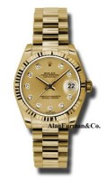 Rolex 18K Yellow Gold Model 178278CHDP