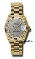 Rolex 18K Yellow Gold Model 178278GRP
