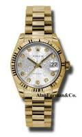 Rolex 18K Yellow Gold Model 178278SJDP