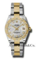 Rolex SS 18K Yellow Gold Model 178313MDO